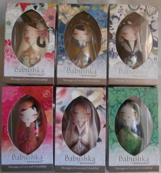 "KEYCHAIN/"" BKK001  NEW /& MINT IN BOX BABUSHKA BY KIMMIDOLL   /""BABUSHKA"